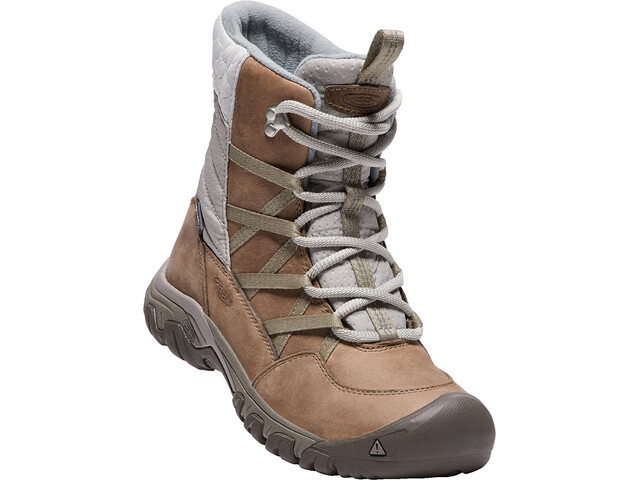 Keen Hoodoo III Lace Up Shoes Women Coconut Plaza Taupe  9dbd9f5551
